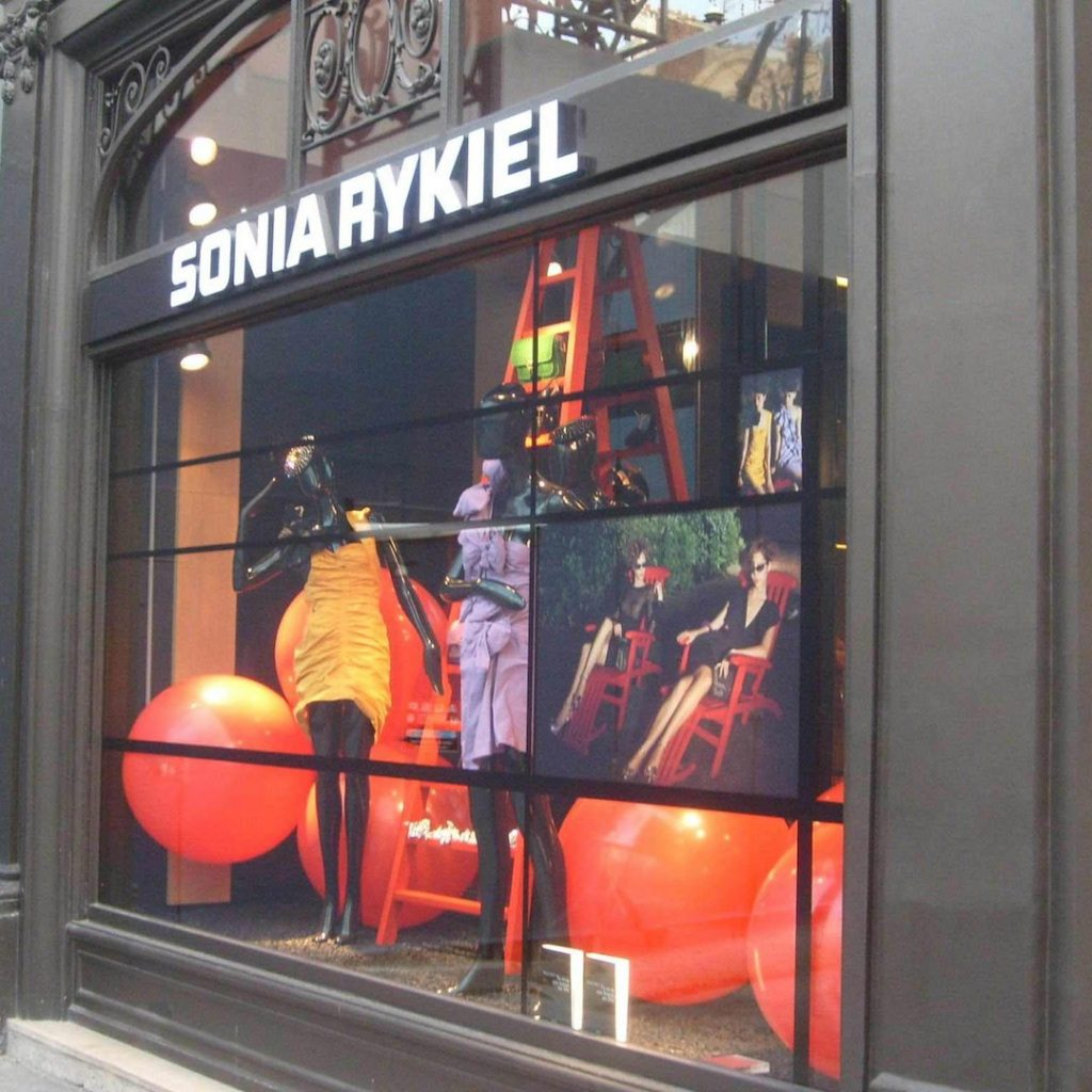graphik retail decoration event reboard nancy sonia rykiel